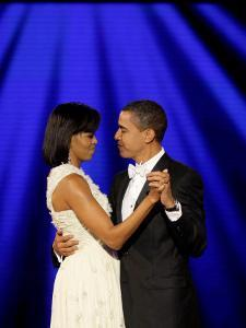 President Barack Obama and First Lady Dance Together at Neighborhood Inaugural Ball in Washington