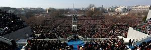 President Barack Obama Delivering His Inaugural Address, Washington DC, January 20, 2009