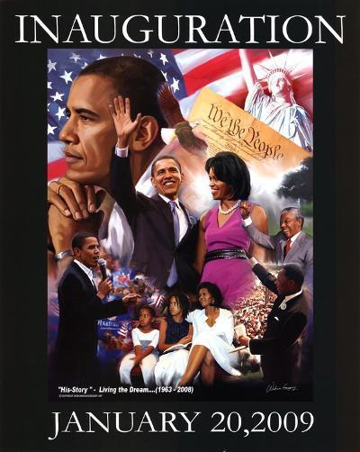 President Barack Obama Inauguration Gregory--Art Print