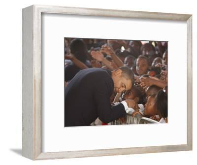 President Barack Obama Visits the Dr. Martin Luther King Charter School of New Orleans, Louisiana