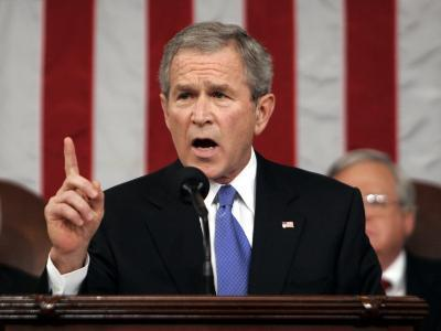 President Bush Delivers His Fifth State of the Union Speech--Photographic Print