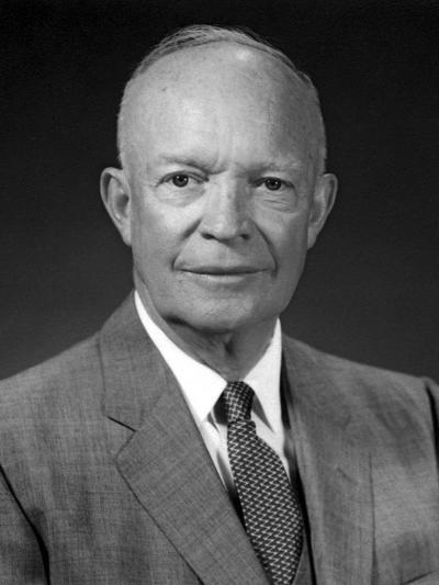 President Dwight Eisenhower Portrait-Stocktrek Images-Photographic Print