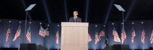 President-Elect Barack Obama Speaks on Election Night, Chicago, Illinois, Nov 4, 2008