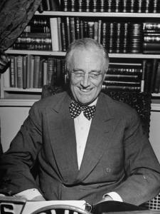 President Franklin D. Roosevelt Speaking on Pre-Invasion Fireside Chat Radio Program