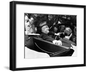 President Franklin Roosevelt, Debonair with His Cigarette Holder