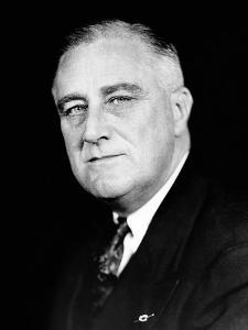 President Franklin Roosevelt in a Portrait Photo Released for the Second Inaugural, Jan 19, 1937