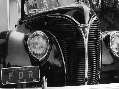 President Franklin Roosevelt's 1938 Ford Sedan-Margaret Bourke-White-Photographic Print