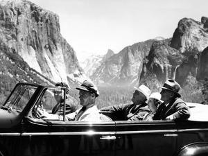 President Franklin Roosevelt Visiting Yosemite National Park