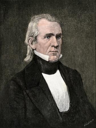 President James K. Polk