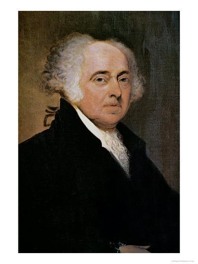 President John Adams-Edgar Parker-Giclee Print