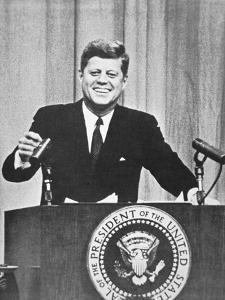 President John F. Kennedy, 1962