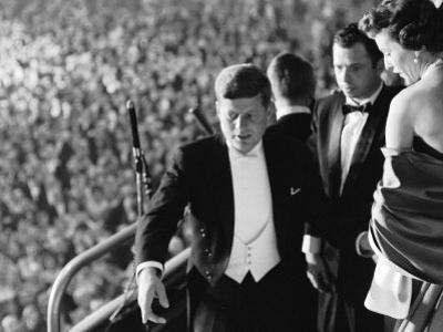 President John F. Kennedy During His Inauguration