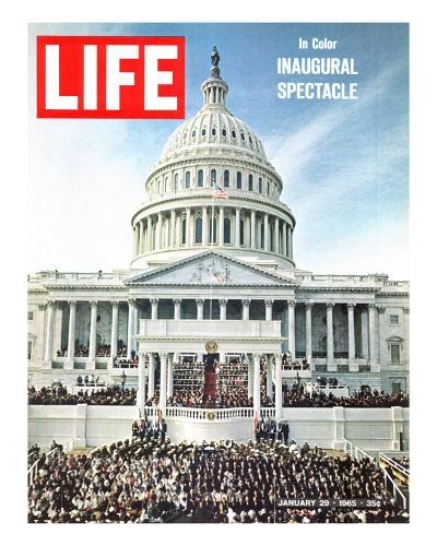 President Johnson's Inaugural, January 29, 1965-John Dominis-Photographic Print
