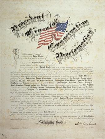President Lincoln, Emancipation Proclamation, San Francisco