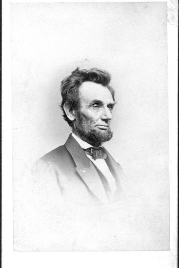President Lincoln in the Last Week of His Life, 1865-Mathew Brady-Photographic Print