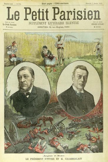 President Paul Kruger--Giclee Print
