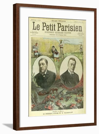 President Paul Kruger--Framed Giclee Print