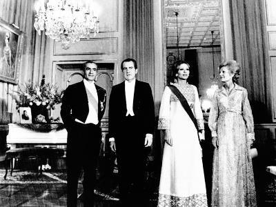 President Richard and Pat Nixon at the Shah's Niavaran Palace--Photo