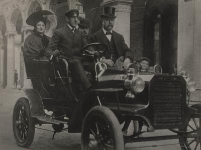 President Taft in Car, C.1909-13--Photographic Print