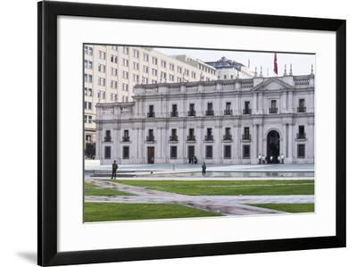 Presidential Palace, La Moneda, Santiago, Chile-M & G Therin-Weise-Framed Photographic Print