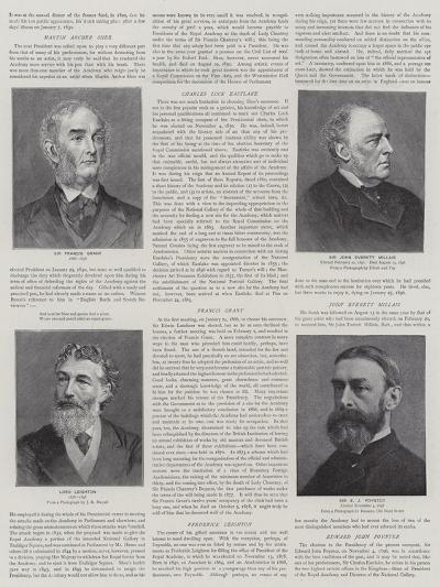Presidents of the Royal Academy--Giclee Print