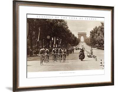 1975 Tour Finish on the Champs Élysées