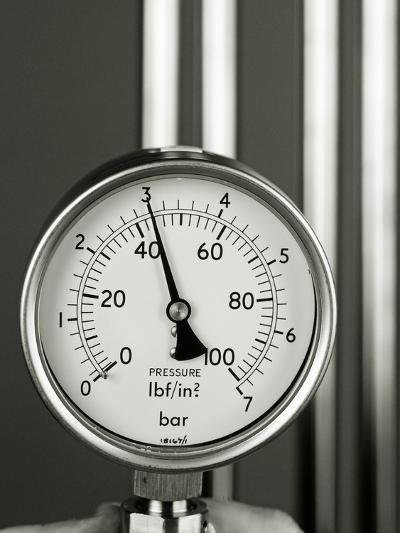 Pressure Gauge-Tony McConnell-Photographic Print