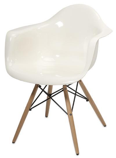 Preston Acrylic Chair - White *--Home Accessories