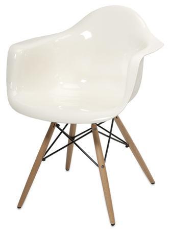 Preston Acrylic Chair - White *