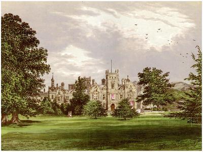 Preston Hall, Kent, Home of the Brassey Family, C1880-Benjamin Fawcett-Giclee Print