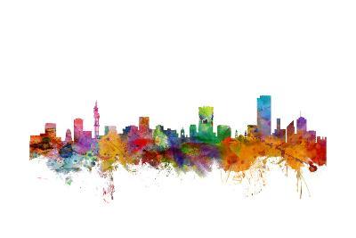 Pretoria South Africa Skyline-Michael Tompsett-Art Print