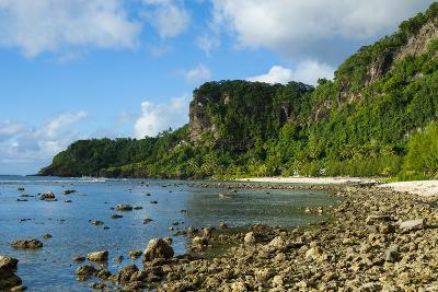 Pretty Bay and Turquoise Water in Tau Island, Manuas, American Samoa, South Pacific-Michael Runkel-Photographic Print