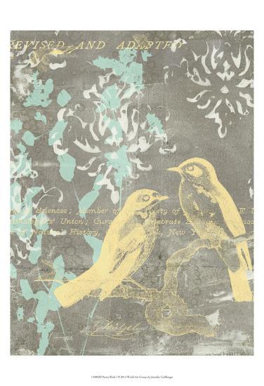 Pretty Birds I-Jennifer Goldberger-Art Print