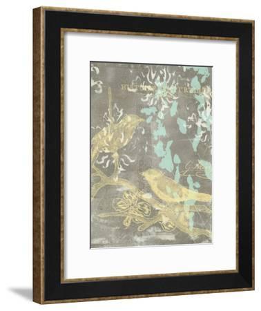 Pretty Birds II-Jennifer Goldberger-Framed Art Print