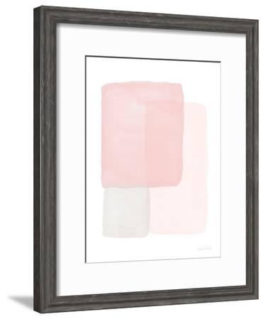 Pretty in Pink II-Linda Woods-Framed Art Print
