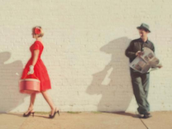 Pretty in Red-Mandy Lynne-Art Print