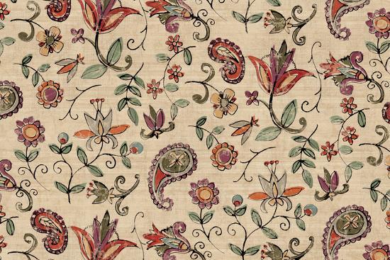 Pretty Paisley I-Anne Tavoletti-Art Print