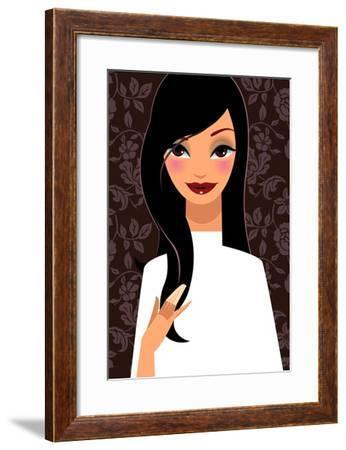 Pretty Woman--Framed Giclee Print