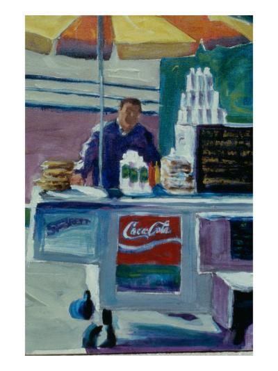 Pretzel Vendor-Patti Mollica-Giclee Print