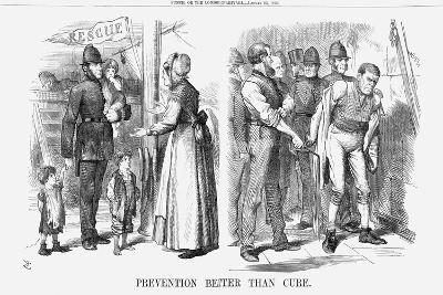Prevention Better Than Cure, 1869-John Tenniel-Giclee Print