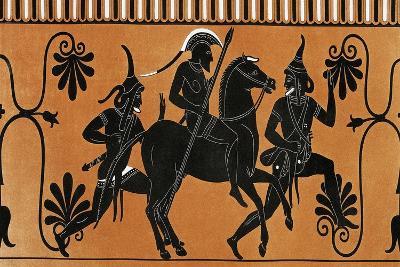 Priam Going to War from Collection Des Vases Grecs De Le Comte De M Lamberg-Alexandre De Laborde-Giclee Print