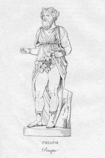 'Priapo (Priape)', c1850-Unknown-Giclee Print