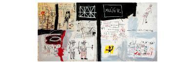 Price of Gasoline in the Third World, 1982-Jean-Michel Basquiat-Giclee Print