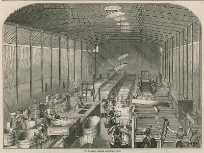 Price's Patent Candle Company's Works; the Candle Moulding Room--Giclee Print