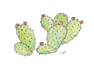 Prickly-Beverly Dyer-Art Print