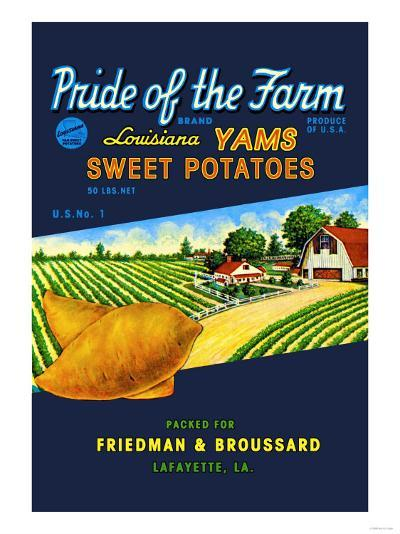 Pride of the Farm Brand--Art Print