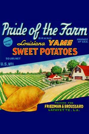 Pride Of The Farm Louisiana Yams
