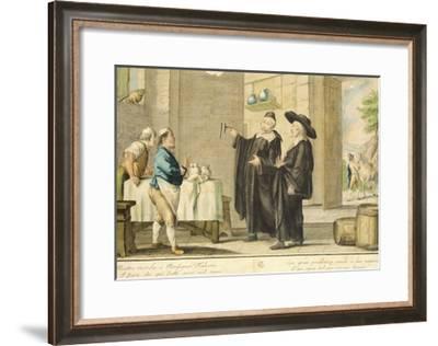 Priest Arlotto-Carlo Lasinio-Framed Giclee Print