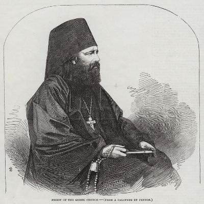 Priest of the Greek Church--Giclee Print