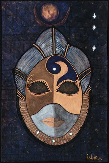 Priestess, 2013-Sabira Manek-Giclee Print